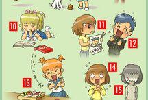 Mangas y animes