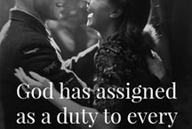 Quotes / Plenty of beautiful quotes about love and marriage.
