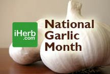 National Garlic Month / April is National Garlic Month, so check out some of our top selling products (http://www.iherb.com/Garlic) ~ New Customers can use Rewards Code PNT999 to get $10 off of a $40 minimum purchase or $5 off first time orders of less than $40. / by iHerb Inc