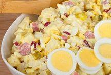 Ensalada de huevo alemana