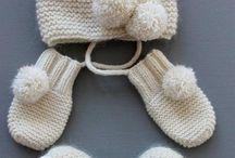 bonnet gant chaussons bebe