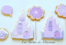 glasa/royal icing / by Rosa M Fernández