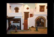 Belenes, nativity dioramas