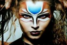 Make up inspired constumes
