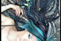 Blue, turquoise