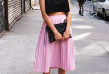 Love midi skirt and culottes