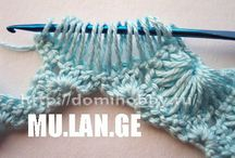 punti - stitch - tutorial all'uncinetto-