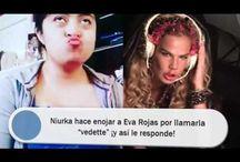 """Niurka hace enojar a Eva Rojas por llamarla """"vedette"""" ¡y así le responde!"""