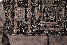 Lovely Embroidery / Riqueza nos detalhes: brilho, paetês, miçangas, bordados, lantejoulas.