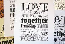 Typography / by Scott Schaller