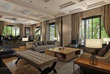 Ev Tasarımları / İç Mimar Özhan Hazırlar'ın tasarladığı ev projeleri.