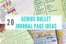 Bullet Journal / Bullet Journalling is the latest trend and we love it here at Designist!   We have put together a few of our favourite pins to get you started and some added extras including fun fonts to try!   You'll wonder why you didn't start sooner!