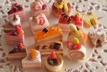 Miniatures: Cakes, pastry etc