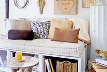Salas Organização / Decoração, inspiração, salas, estilizar as salas, móveis, sofás, organização, arrumação de sala.