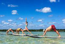 Sup Yoga en la Riviera Maya