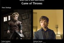 Game of Thrones / Juego de Tronos / Previous work of the Casting