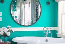 Ideas for bathroom / Great colour