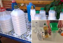 Suavizante ropa y jabón lavadora