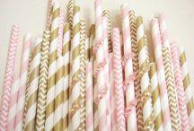Wedding Inspiration - Pink & Gold