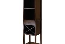 wooden wine rack / by Debi Ewalt