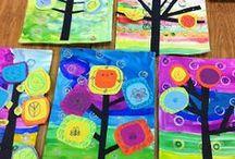 幼稚園のアート