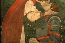 Medieval fabric & clothes designs