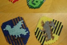 Perler Beads / hii, this is my beads idea board. i also take commissions on my facebook page @mermaidbeads. :)