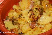 Recetas con patatas / Recetas de cocina fácil para toda la familia. Recetas con patatas.