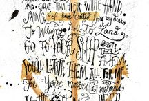 Calligraphy / by Annie Froese - Artist, Educator