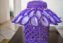 vidro decorado