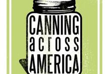 Canning Resources / Tips for home canning so that you can enjoy your in season fruits and veggies during the winter months.  Give canning a try this year!!