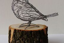 wire / wire sculpture critters