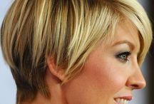 short hairstyles / by Janice Whitaker