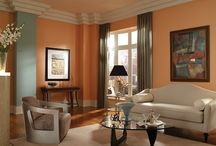 Orange Rooms / From bright to cream we seek to inspire your paint color selection in shades of orange.  / by BEHR Paint