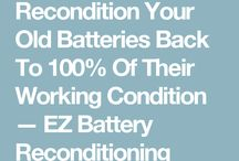 reconditioned your batteries