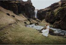 ICELAND WEDDING INSPIRATION / Wedding Inspiration for an intimate Icelandic Wedding or Elopement.