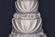 Wedding cake-Esküvői torták / Cakes collections Esküvői torták gyűjteménye