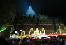 Vesak day,Borobudur temple,Yogyakarta,Indonesia