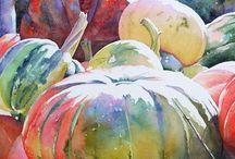 수채 과일 채소