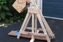 Trebuchet and other medieval weapons / Over Trebuchet maken en historie