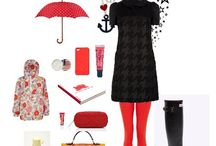 Rainy Days / Ok, Rainy Days are not my best days BUT with stylish fashion, I could come around!