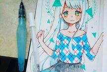 Art ♡ Anime drawings