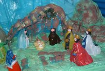 Natale / Albero di natale, presepe, addobbi.