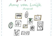 Friends of Flow August 2017 / Every month a Friend of Flow will host a special board, pinning everything he or she finds inspiring. In August 2017 this will be illustrator Amy van Luijk.