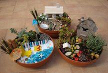 Minikertek, miniature gardens