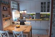 Juszkowo salon i kuchnia