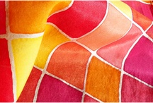 Silk painting/inspirations