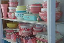 Pyrex Love Affair / who doesn't love pyrex right! vintage or new its pretty and darn useful