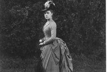 мода XIX век