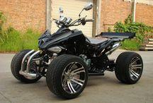 Quad bikes and motor bikes